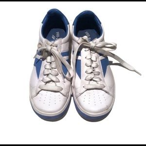 Keds Sneakers Royal Serve leather 8.5 blue & white